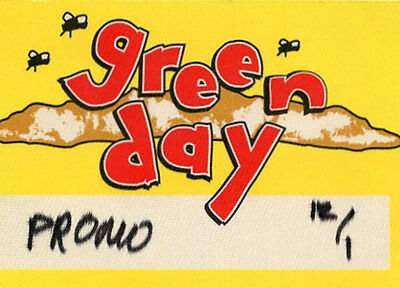 Green Day - Satin Backstage Pass • 4.70£