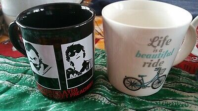 Manic Street Preacher Forever Delayed Mug Walnut Whip Life Is A Beautiful Ride • 30£