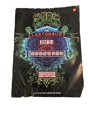 Glastonbury Festival 2013 Programme. Official Merchandise . • 4£