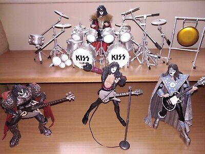 Rare Kiss Creatures Of The Night McFarlane Toy Figure Set, Read Full Listing  • 90£