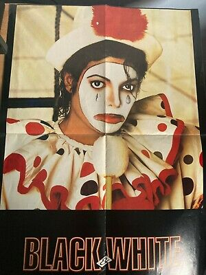 Michael Jackson Double Sided Poster • 0.99£