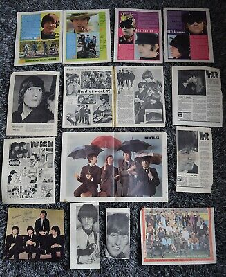 15 X Beatles Pages Cuttings Clippings Photos Boyfriend Valentine Etc 1965 - 67  • 10.99£