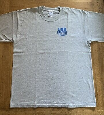 Bad Company 2002 Local Crew T-Shirt XL • 8£