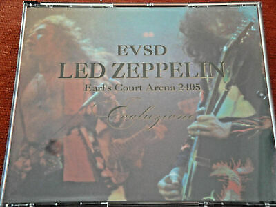 Led Zeppelin - Evoluzione -  Live Earls Court 24/5/75 -4cds • 15£