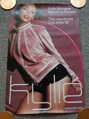 Kylie Minogue Spinning Around Promotional Poster 2000.  • 7.50£