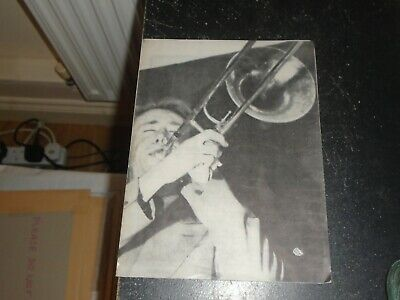 1957 Chris Barber Jazz Show Programme, Royal Festival Hall, Ollie Patterson • 8£