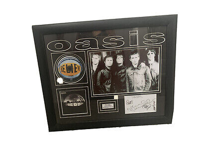 Oasis Dont Believe The Trust Signed CD ALBUM Quality Framed • 16£