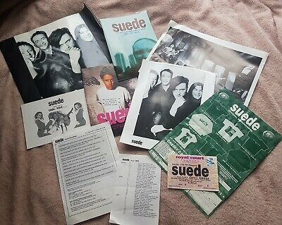 SUEDE Memorabilia From The 90's! Photos, Fan Club Newsletters, Tour Programme  • 20£