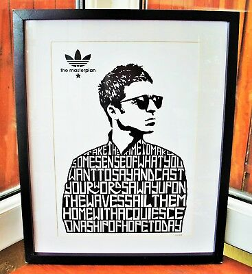 Oasis/Noel Gallagher/The Masterplan A3 Size Typography Art Print/poster  • 14.40£