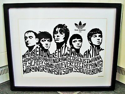 Oasis/Live Forever A3 Size Typography Art Print/poster  • 13.99£