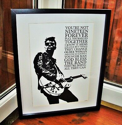 Courteeners/Liam Fray/Not Nineteen Forever A3 Size Art Print/poster  • 14.40£