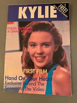 Kylie Minogue... Free Booklet With Poster • 10£