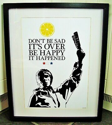 The Stone Roses/Ian Brown/Don't Be Sad A3 Size Typography Art Print/poster  • 14.40£