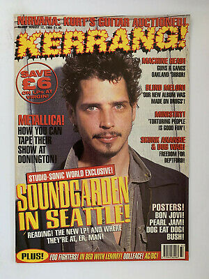 Kerrang #558 Soundgarden Chris Cornell • 12£