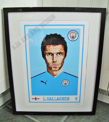 Liam Gallagher/Oasis/Manchester City A3 Size Art Print/poster • 13.99£