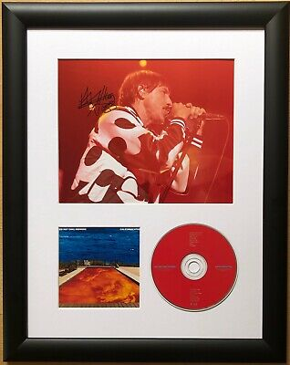 Anthony Kiedis / Red Hot Chili Peppers / Signed Photo / Autograph / Framed / COA • 198£