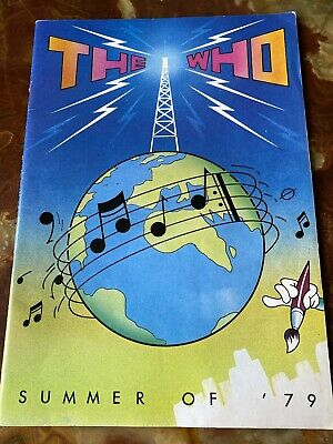The Who – Summer Of '79 – Souvenir Programme Memorabilia • 14.99£