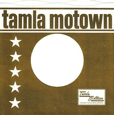 TAMLA MOTOWN Company Reproduction Record Sleeves - Wavy Top,  (pack Of 10] • 5.95£
