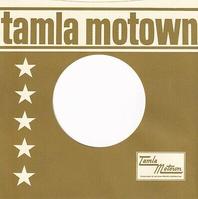 TAMLA MOTOWN Company Reproduction Record Sleeves - Straight Top, Sage  (12 Pack] • 7.25£