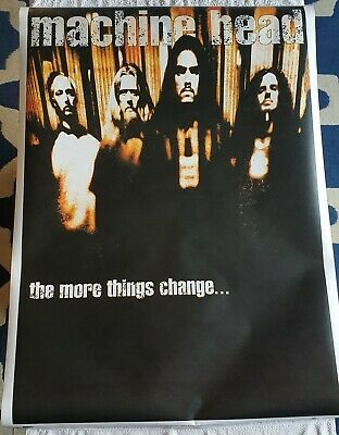 VINTAGE 1997 Machine Head - The More Things Change - Maxi Poster - 90 X 64cm • 20.99£
