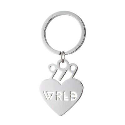 Juice WRLD Stainless Steel Keychain For Popular Young Singer Fans Gifts • 3.99£