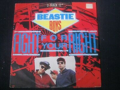 """Record 12"""" Single Beastie Boys Fight For Your Right 3606 • 4.20£"""
