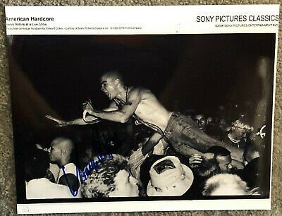 HENRY ROLLINS Signed Photo 10x8  - Genuine Autograph • 24.99£