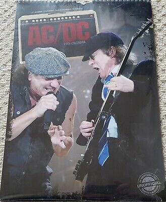 Ac/dc 2015 Calendar New And Sealed  • 4.50£