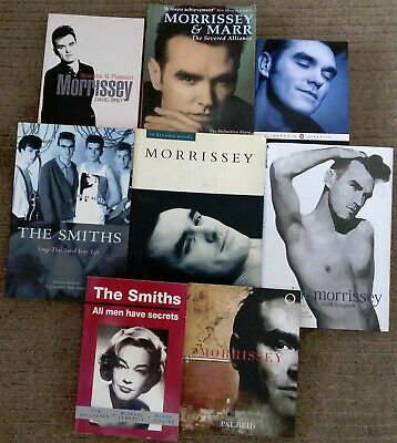 Morrissey / The Smiths Books (8 Book Bundle) • 35£