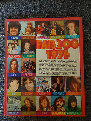 Fab 208 Annual 1974 - Unclipped Good Condition • 5.99£