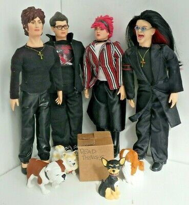 Ozzy Jack Sharon Kelly Osbourne Family Dolls, Pets & Dead Things Box • 49£