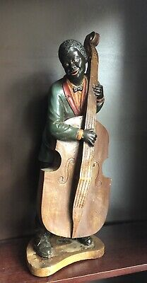 Jazz Blues Musician Figurine Statue • 21£