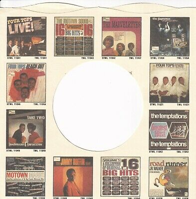 TAMLA MOTOWN / EMI Company Reproduction Record Sleeves - (pack Of 15) • 8.25£