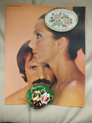 Rare Vintage 1972 Sonny And Cher  Fan Booklet. MINT • 45£