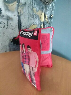 One Direction Collectable Ipod, Headphone Zip Cased Cushioned Holder Vg Conditio • 2.90£