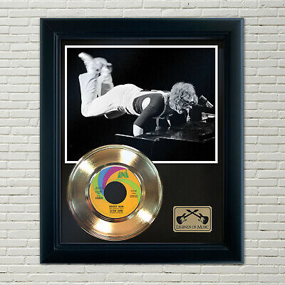 Elton John  Rocket Man  Framed Record Display • 71.49£