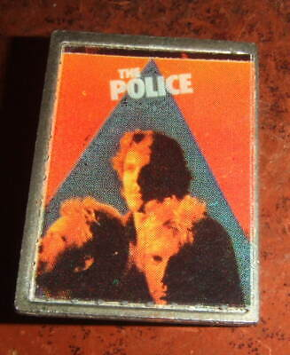 Police (As In Sting) Vintage Lapel Badge Circa 1980. • 3.90£