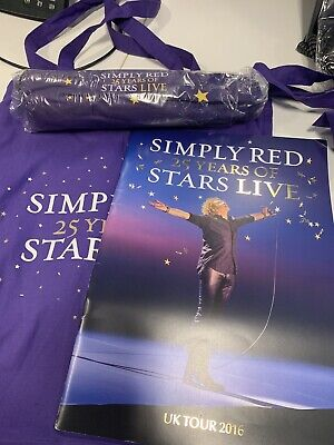 Simply Red -very Rare - 25 Years Of Stars Live - Vip Pack. • 50£