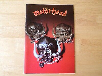 Motorhead - Iron Fist Tour Programme - Signed / Autographed - All 3 • 199.99£
