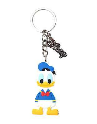 Donald Duck Keyring Keychain New Official Disney Rubber • 7.95£