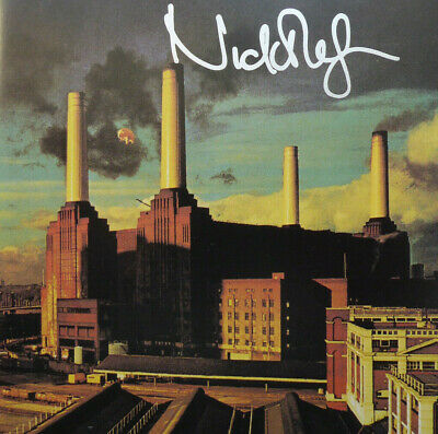 Animals Cd Insert Or Booklet Hand Signed By Nick Mason Of Pink Floyd And Cd • 175£