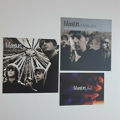 Mansun / Promo / Postcard Flyer / I Can Only Disappoint You / Little Kix Album • 3.20£