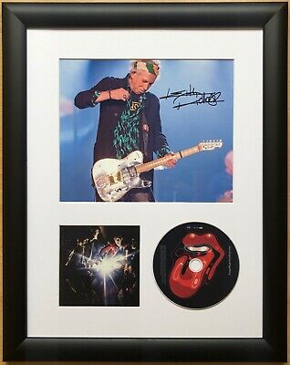 Keith Richards / Rolling Stones / Signed Photo / Autograph / Framed / COA • 198£