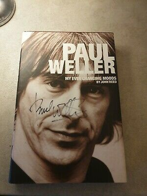 Paul Weller  My Ever Changing Moods Book Signed • 64.99£