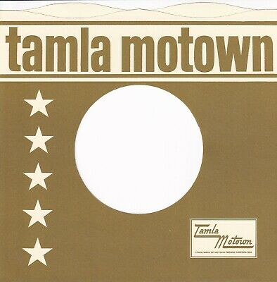 TAMLA MOTOWN Company Reproduction Record Sleeves - Wavy Top,  (pack Of 10] SAGE • 5.95£