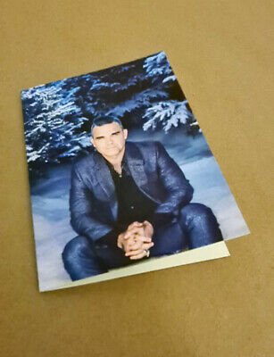 Take That - RARE ROBBIE WILLIAMS Boldly SIGNED Christmas Card New Stunning! • 20.99£