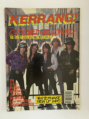 Kerrang #260 The Quireboys • 4.75£