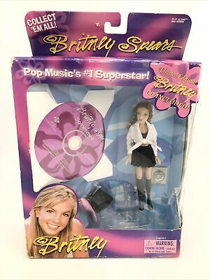 """Britney Spears Live Limited Edition 6"""" Doll Action Figure With Sometimes CD RARE • 39.30£"""
