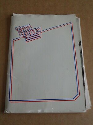 Thin Lizzy - Lot Of 13 Fan Club Newsletters 1979-1982 + Fan Club Correspondence • 50£