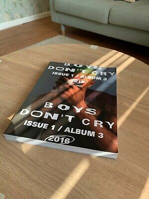 EXTREMELY RARE Frank Ocean Boys Don't Cry Magazine - Shower Cover • 350£